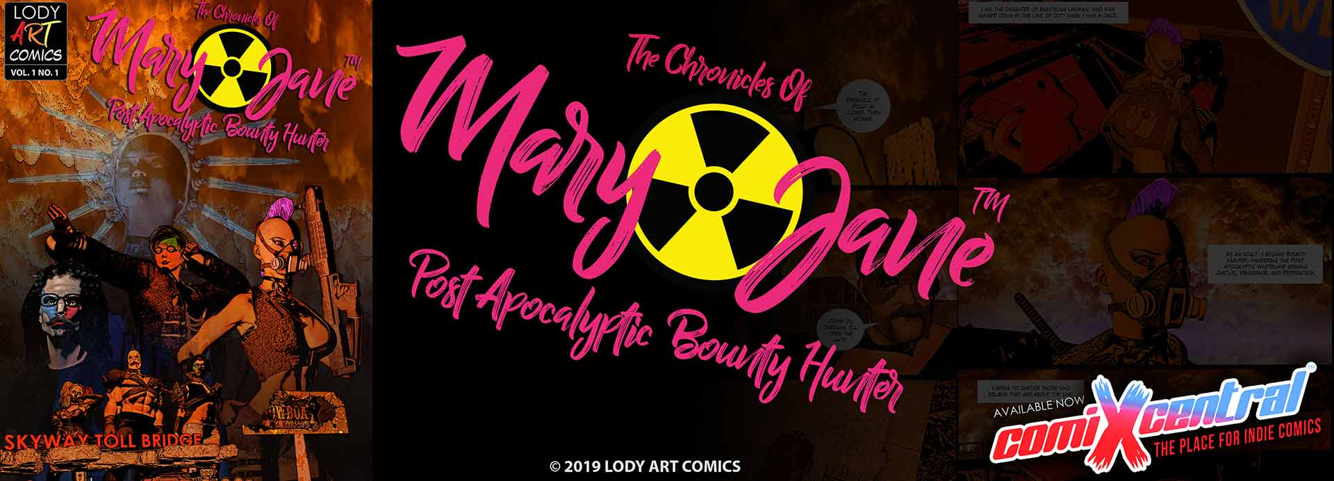 Mary Jane: Post Apocalyptic Bounty Hunter