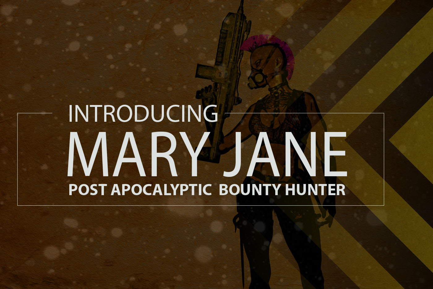The Chronicles of Mary Jane Post Apocalyptic Bounty Hunter