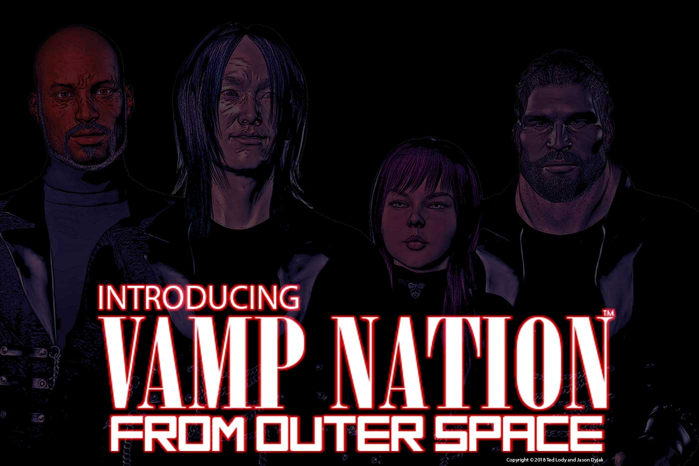 Vamp Nation from Outer Space Graphic Novel